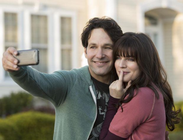 Paul Rudd with Aisling Bea in Living with Yourself