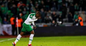 Ireland's Michael Obafemi should feature in Reykjavik. Photograph: Ryan Byrne/Inpho