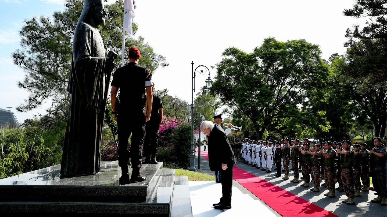 Cyprus president pledges to protect Irish Border, single market and peace process