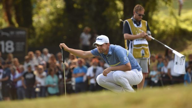 Bernd Wiesberger's victory at the Italian Open at Olgiata Golf Club in Rome put him top of the European Tour order of merit. Photograph: Tullio M Puglia/Getty Images