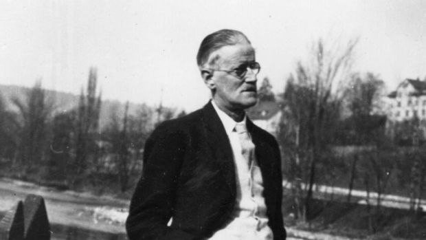 """Ireland's premier writer"": James Joyce in Zurich in 1938, three years before his death. File photograph: Hulton/Getty"