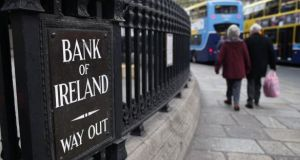 The main priorities of Bank of Ireland's new CFO, Myles O'Grady, will include delivering on a three-year financial plan. Photograph: Peter Muhly/AFP/Getty Images
