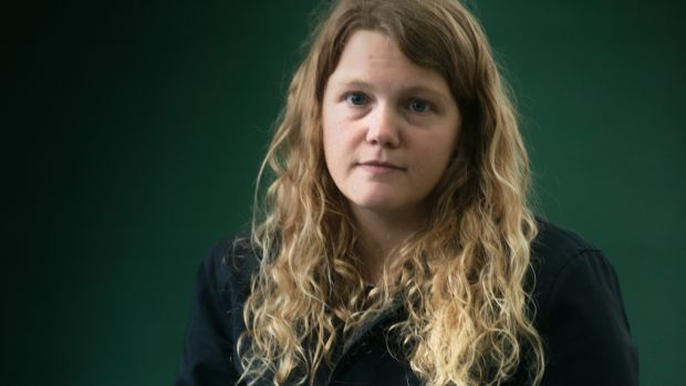 Kate Tempest at the Edinburgh International Book Festival in 2015. Photograph: Alan McCredie