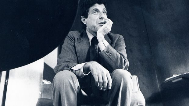 Leonard Cohen in New York in 1973: He wrote more poems that found a second life as songs (or vice versa) than any other musical artist Photograph: Librado Romero/New York Times