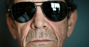 Lou Reed in New York in 2011: I'll Be Your Mirror – The Collected Lyrics shows him to be a true rock 'n' roll poet. Photograph: Chad Batka/New York Times