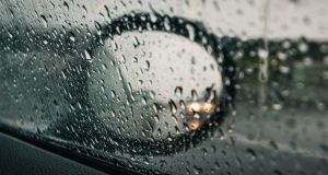 Approximately 50mm of rain fell in a short period of time. Photograph: iStock