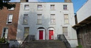 Numbers 100 and 101 Seville Place in Dublin 1. Dublin City Council said its latest inspection had shown that the two buildings and 104 Seville Place need to be vacated immediately.  Photograph: Dave Meehan/The Irish Times.