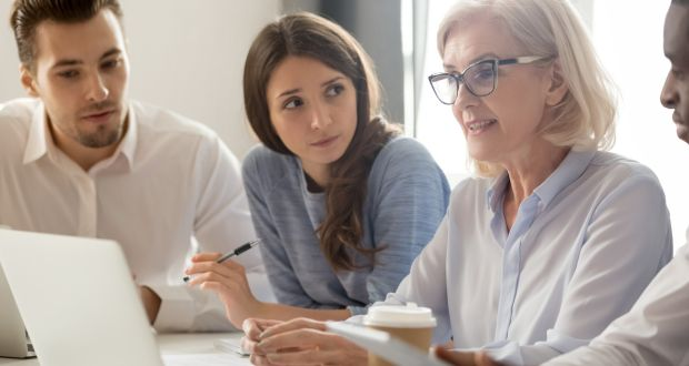 An intergenerational workforce can be a potent force for success. Photograph: iStock