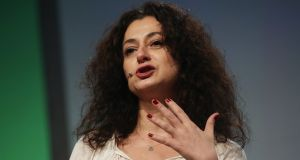 Ece Temelkuran: 'Young women are not embarrassed of being powerful.' Photograph: Sean Gallup/Getty