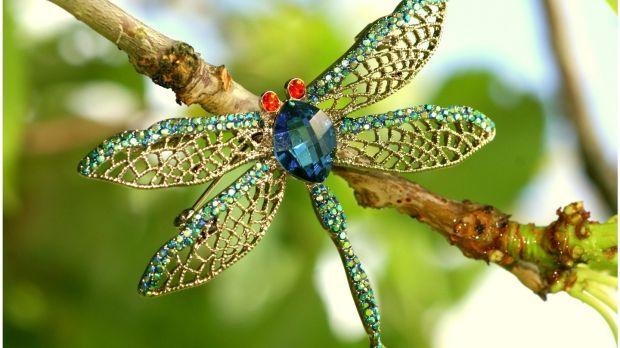 Dragonfly brooch by Corona Silver (€60)