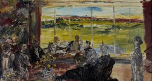 Evening in Spring, Jack B Yeats, €500,000-€700,000, Whyte's and Christie's Ernie O'Malley Collection sale