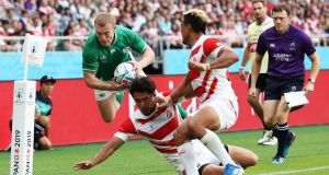 Rugby World Cup: Wise old Earls has learned to channel nervous energy