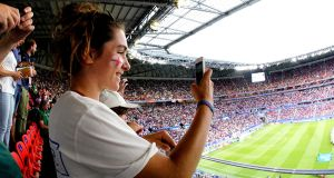 Support for  England Women has risen dramatically since their march to the  World Cup semi-final in France last summer.  Photograph:  Geert van Erven/Soccrates/Getty Images