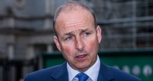 Fianna Fáil leader  Micheál Martin: sharp clashes with Taoiseach Leo Varadkar after COPE Foundation warned it needs €120 million in additional funding. Photograph: James Forde for The Irish Times