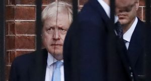 British prime minister Boris Johnson hopes to put the new deal before the House of Commons at a special sitting on Saturday. Photograph: Getty