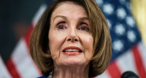 Democratic speaker of the house from California Nancy Pelosi. Photograph: Jim Lo Scalzo/EPA