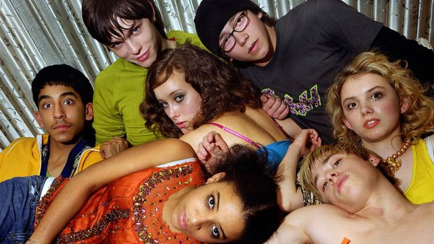 Skins: one of Jack Thorne's contributions to television