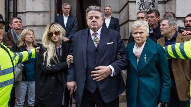 National Treasure: Robbie Coltrane and Julie Walters in Jack Thorne's drama