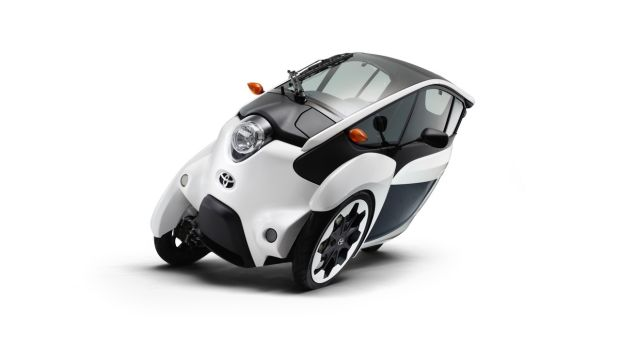 Toyota will also show in Tokyo the I-Road, a sort of gyro-stabilised electric scooter