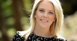 Sarah Crossan: Here is the Beehive, about an affair which ends in tragedy and then takes a twist, is to be published next August. Photograph: Dara Mac Dónaill