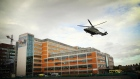 Emergency helicopter lands at Mater hospital helipad for first time
