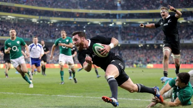 Rugby Ryan Crotty breaks Irish hearts in 2013.