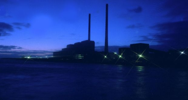 The ESB has lodged a planning application for a new generator known as a 'synchronous condenser' at Moneypoint power station in Co Clare. Photograph: Neil Warner