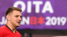 Dan Biggar has been passed fit for Wales' Rugby World Cup quarter-final clash with France. Photograph: Gabriel Bouys/AFP/Getty
