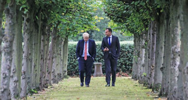 'Boris Johnson had already established a much warmer relationship with Leo Varadkar than May ever enjoyed.' Photograph: PA Wire