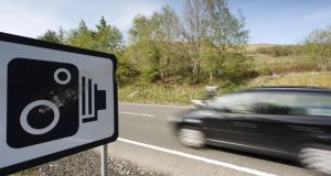 National Slow Down Day: gardaí are targeting 1,000 locations with speed cameras today. Photograph: Getty