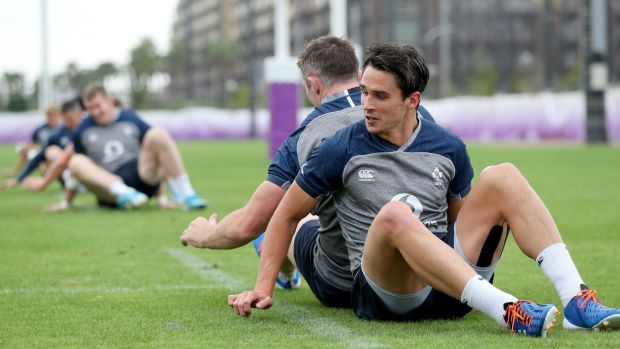 Ireland will be looking to Joey Carbery to provide the X-factor off the bench against New Zealand. Photograph Dan Sheridan/Inpho