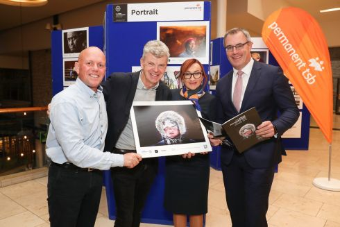 PICTURE PERFECT: Pictured were Press Photography Association of Ireland (PPAI) president Crispin Rodwell, PPAI 2019 press photographers of the year Tom Honan, Annemarie Farrell from Permanent TSB Drogheda branch and Patrick Farrell, head of retail Permanent TSB at the sponsorship announcement with Permanent TSB and the Press Photographers Association of Ireland. The 2019 PPAI photography exhibition will be on display at the new Permanent TSB branch at Scotch Hall, Drogheda for the coming week. Photograph: Conor McCabe Photography