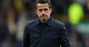 "Marco Silva: ""We have planned everything well and tomorrow our players will perform well in our stadium and show togetherness."" Photograph:  Alex Livesey/Getty Images"