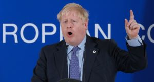 British prime minister Boris Johnson: With  hardline Brexiteers still undecided and  expelled Conservatives divided over how to vote, the outcome is expected to depend on a handful of votes. Photograph: Sean Gallup/Getty Images
