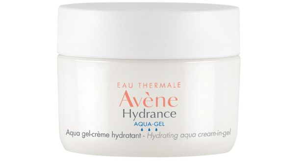 Avène Hydrance Aqua-Gel cools and soothes the skin.