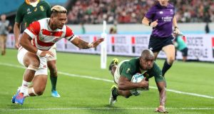 Power prevails as Springboks crush Japan's World Cup dreams