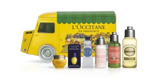 L'Occitane Truck: the storage tin is unbelievably cute.