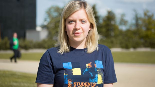 Joanna Siewierska, president of the UCD's students' union, says the education system should aim to reduce inequalities.