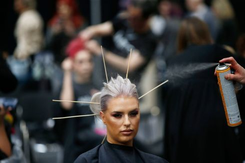 General scenes at the tenth ALFAPARF MILANO Fantastic Hairdresser Awards 2019 at the RDS.  Photograph Nick Bradshaw for The Irish Times