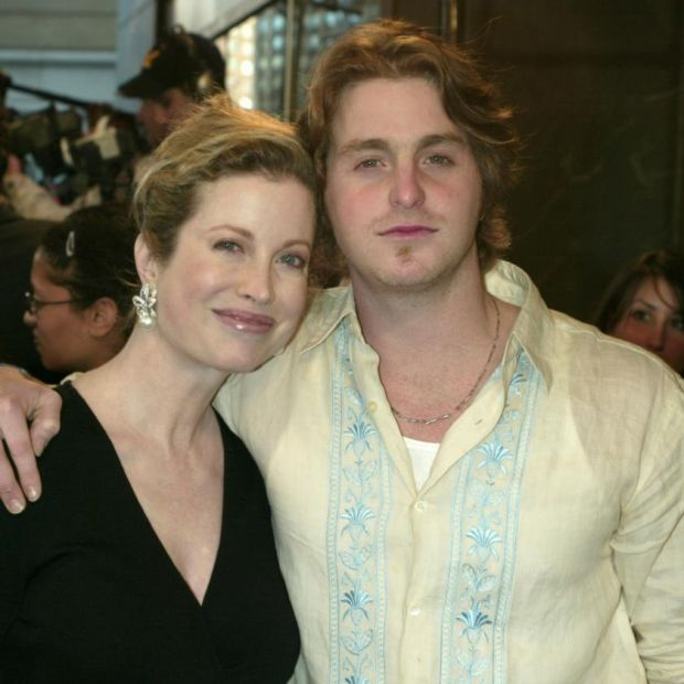 Cameron Douglas with his mother, Diandra Douglas, in 2003. Photograph: Jim Spellman/WireImage/Getty