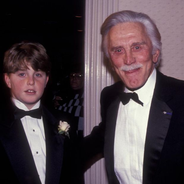 Cameron Douglas with his grandfather Kirk Douglas, in 1991. Photograph: Ron Galella Collection via Getty
