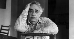 "American literary critic Harold Bloom: those who promote broadening the canon to include more women or post-colonial or LGBT or non-English or non-white writers belong to what he calls a ""school of resentment"".  Photograph: Jim Wilson/The New York Times"