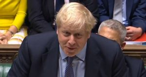 Britain's prime minister, Boris Johnson: Has struck a terrible deal for the people of Britain – it opens the way to a hard-right, radically deregulated version of Brexit.  Photograph: PRU/AFP