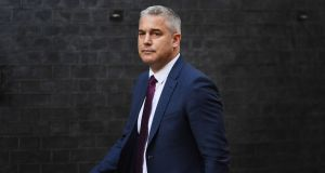 "Secretary of state for exiting the European Union Steve Barclay: said goods shipped from Northern Ireland to Great Britain would have to be accompanied by an ""exit summary declaration"" under EU customs rules. Photograph: Chris J Ratcliffe/Getty"