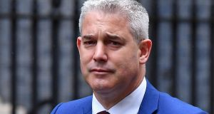 Britain's Brexit secretary  Stephen Barclay.  Photograph:   Ben Stansall/ AFP via Getty