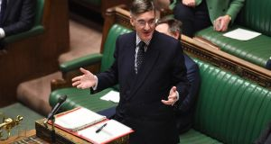 Leader of the House of Commons Jacob Rees Mogg.     Photograph: Jessica Taylor/UK Parliament