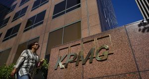 KPMG is trying to cut £100m of costs.