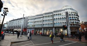 St Stephen's Green Shopping Centre, Dublin, is producing rental income of about €8m.  Photograph: Alan Betson