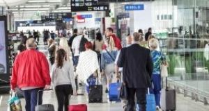 The passenger traffic  increase of 4 per cent on last year makes it the busiest September in the airport's 79-year history.