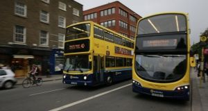A redesign of the bus network in Dublin was launched on Tuesday. Photograph: Nick Bradshaw/File